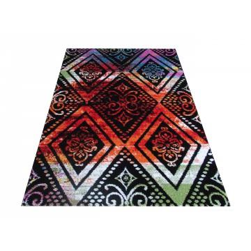 Dywan nowoczesny Somero 04- kolorowy romby