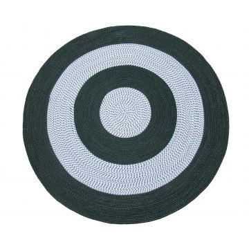 Dywan Corda koło - zielony- sznurkowy- sizal