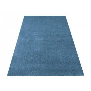Dywan jednolity  jednokolorowy Uncolore - niebieski