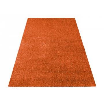 Dywan jednolity jednokolorowy Uncolore - pomarańczowy