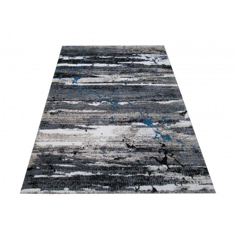 Dywan Malmo 01 - szary-nowoczesny abstrakcyjny