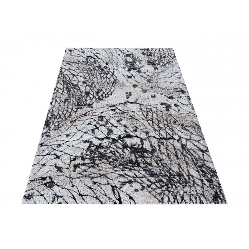 Dywan Malmo 02 - brązowy- nowoczesny abstrakcyjny