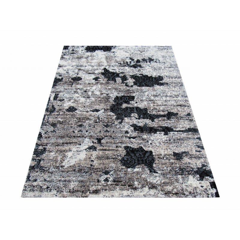 Dywan Malmo 03 - brązowy- nowoczesny abstrakcyjny