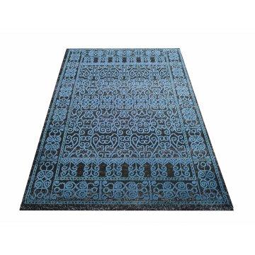 Dywan ekskluzywny klasyczny Royal Velvet 01 - niebieski