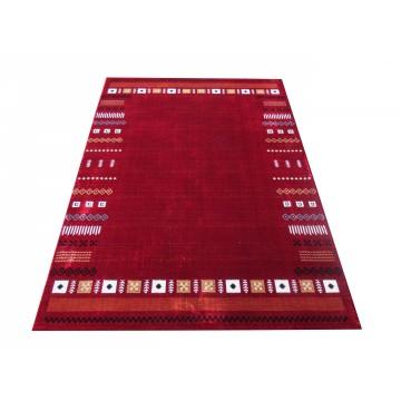 Dywan nowoczesny Nordic 01 - czerwony- styl skandynawski