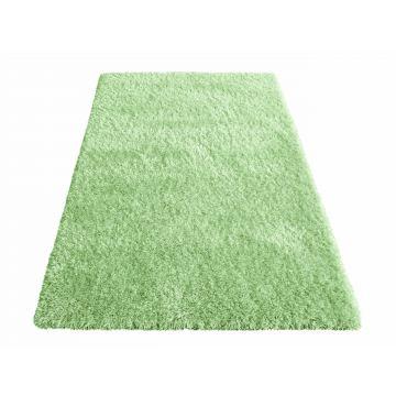 Dywan nowoczesny Felpa - zielony- długi włos- shaggy