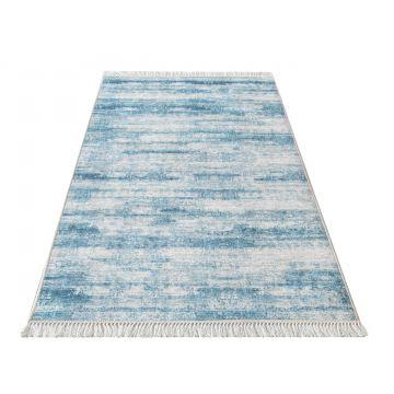 Dywan kuchenny antypoślizgowy Klara 02 - niebieska
