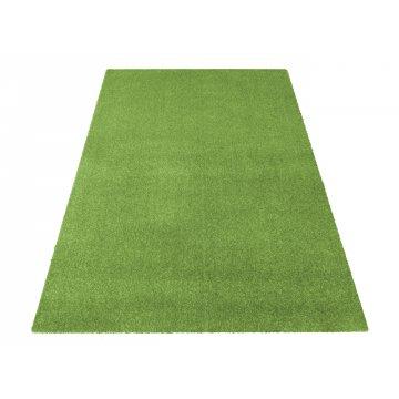 Dywan jednolity jednokolorowy Uncolore - zielony (N)