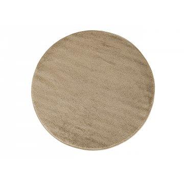 Dywan jednolity jednokolorowy  Uncolore koło - beżowe (N)