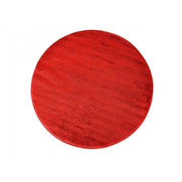 Dywan jednolity  jednokolorowy Uncolore koło - czerwone (N)