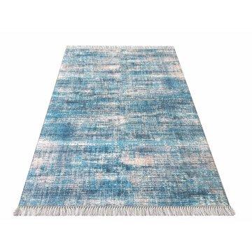 Dywan kuchenny antypoślizgowy Klara 02 - niebieska (N)