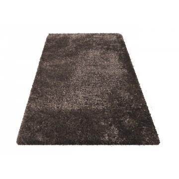 Dywan SOFT typu shaggy brązowy pluszowy- długi włos