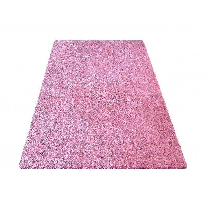 Dywan nowoczesny pluszowy różowy -Elite typu shaggy