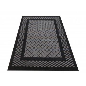 Dywan nowoczesny Sottile 03 szaro-czarny- geometryczny