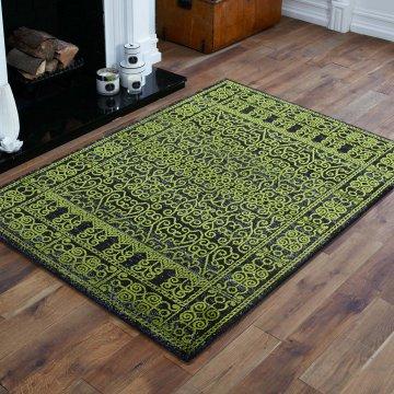 Dywan ekskluzywny klasyczny Royal Velvet 01 - zielony