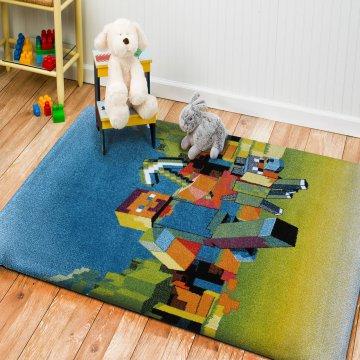 Dywan dla dzieci Bambino 05- robot