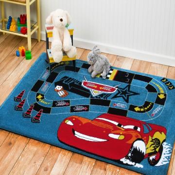 Dywan dla dzieci Bambino 06- chłopięcy, auto- tor