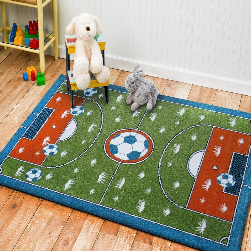 Dywan dla dzieci Bambino 07- chłopięcy, boisko