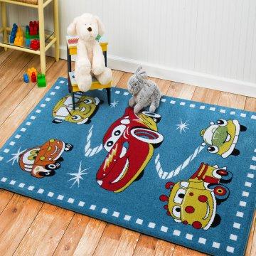 Dywan dla dzieci Bambino 12- auta- zyzgak MCQueen
