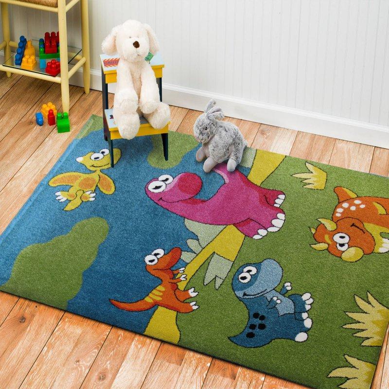 Dywan dla dzieci Bambino 13- dinozaury