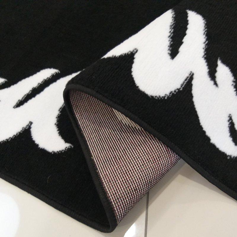 Dywan nowoczesny Sottile 02 czarno-biały