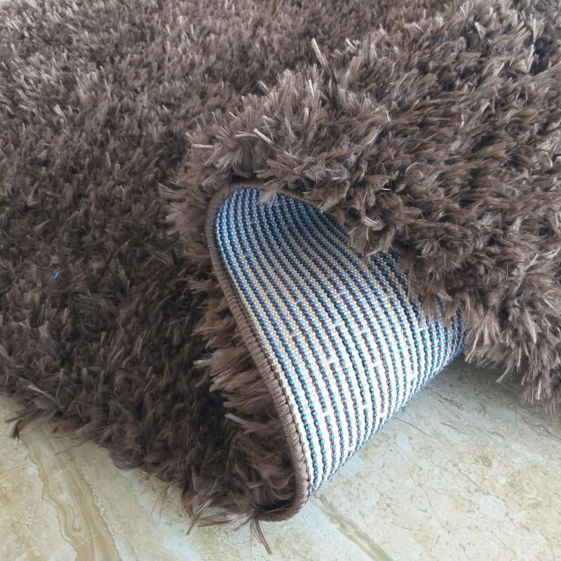 Dywan shaggy pluszowy SOFT- brązowy