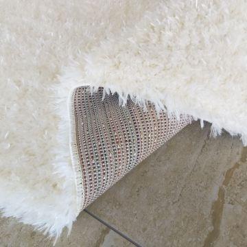 Dywan SOFT typu shaggy kremowy pluszowy- długi włos