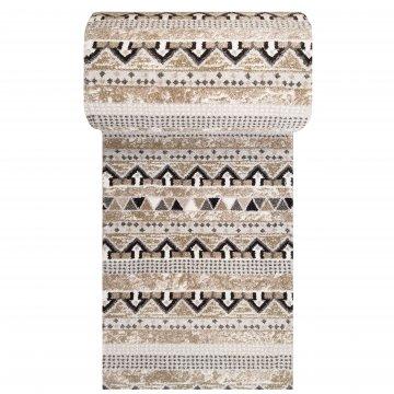 Chodnik dywanowy Odyn 01 - beżowy - 60 - 150cm- nowoczesny