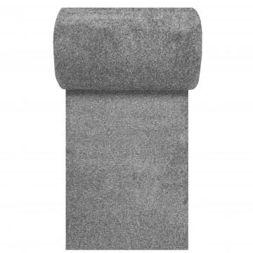 Chodnik dywanowy  jednolity szary Bambino 60-100cm