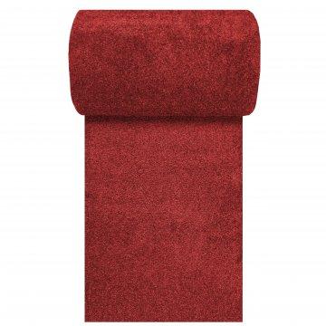 Chodnik dywanowy jednolity jednokolorowy Uncolore- czerwony