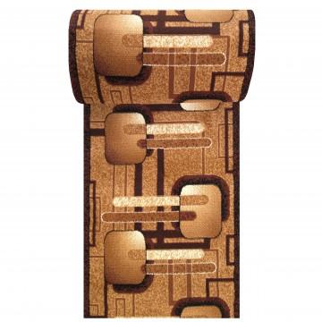 Chodnik nowoczesny BCF Ankara  16 brązowy - 60 - 180cm