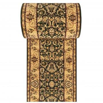 Chodnik dywanowy President 02 - zielony - 60 - 120cm- tradycyjny- klasyczny