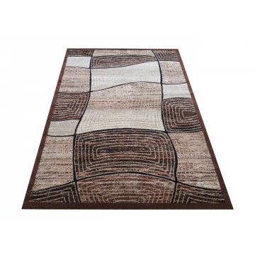 Dywan nowoczesny Bueno 06 - brązowy