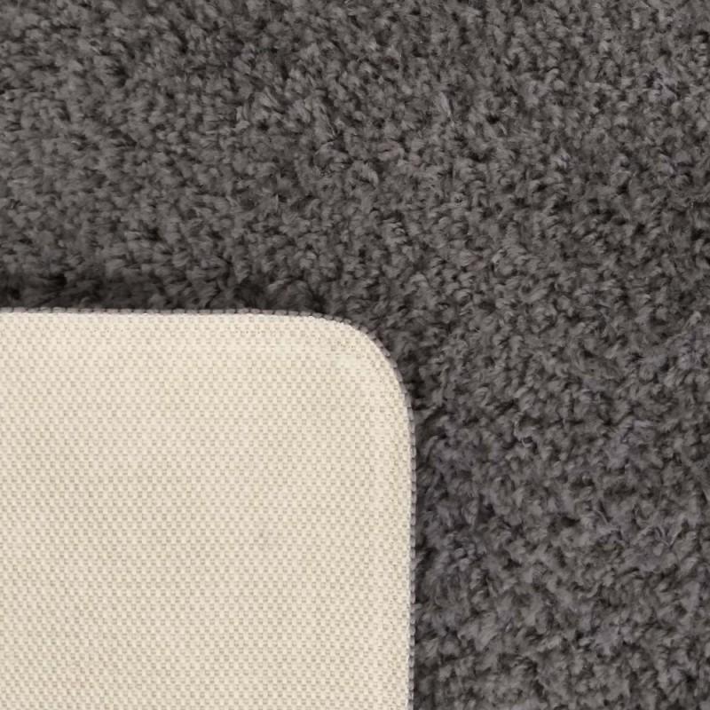 Dywan nowoczesny pluszowy ciemnoszary- Elite typu shaggy