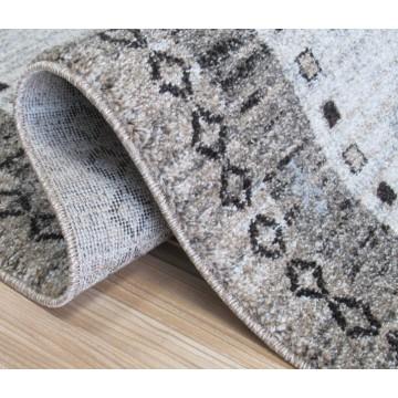 Chodnik dywanowy Odyn 04 - beżowy - 60 - 150cm- nowoczesny