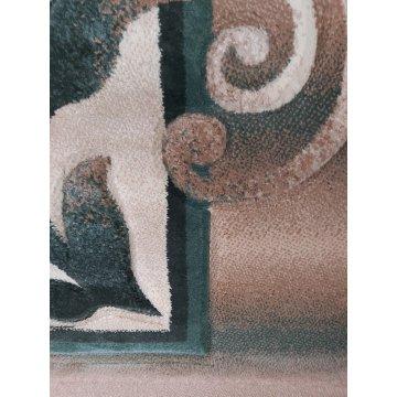 Dywan Classic 02 - zielony-klasyczny- nowoczesny