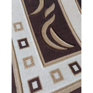 Dywan Classic 07S - brązowy- nowoczesny
