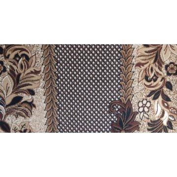 Chodnik klasyczny BCF Ankara  01 brązowy - 60 - 180 cm- kwiaty