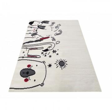 Dywan nowoczesny  SOTTILE 09 beżowy jednorożec