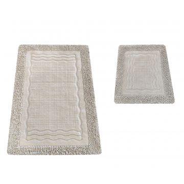 Komplet dywaników łazienkowych Berlin 01N Vizion