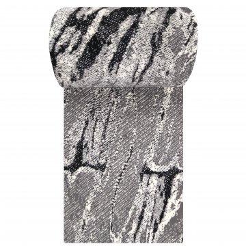 Chodnik nowoczesny Syrah 04 - szary - szerokość od 70 cm do 100 cm