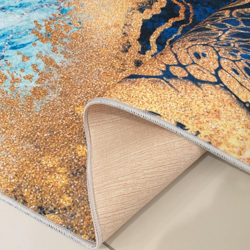 Dywan nowoczesny antypoślizgowy Universal 11 niebieski