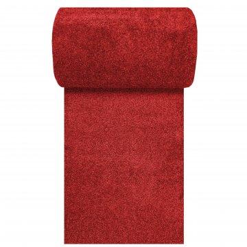 Chodnik dywanowy UNCOLORE -N- jednolity - czerwony