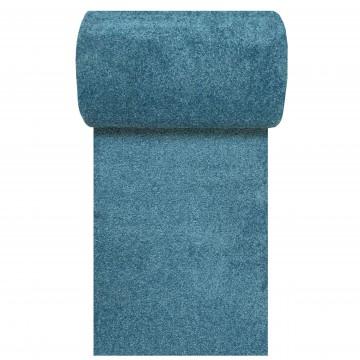 Chodnik dywanowy Uncolore -N- jednolity - niebieski