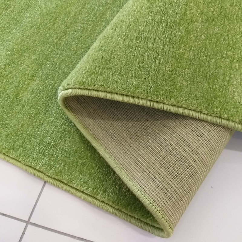 Chodnik dywanowy Uncolore -N- jednolity - zielony
