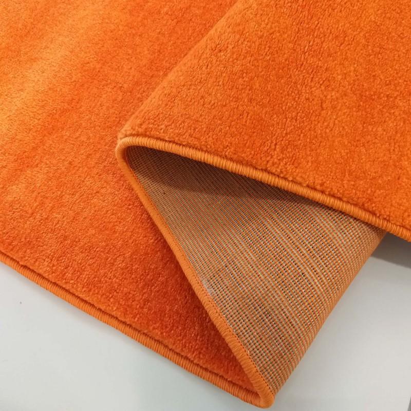 Chodnik dywanowy Uncolore -N- jednolity - pomarańczowy