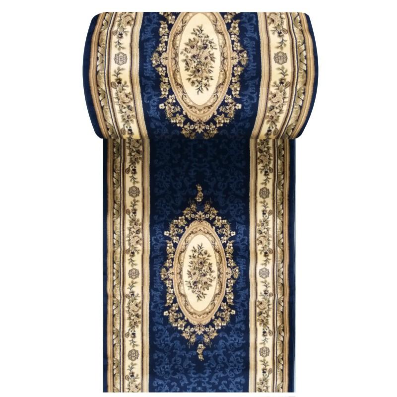 Chodnik dywanowy President 04 - granatowy- szer. 100 cm