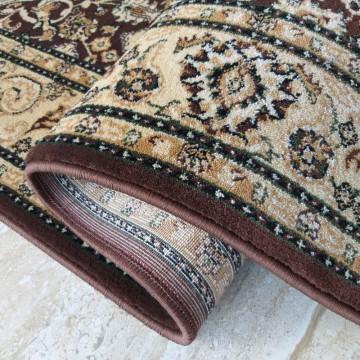 Chodnik dywanowy President 02 - brązowy - 60 - 120cm- tradycyjny- klasyczny