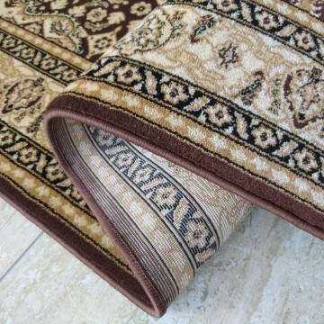 Chodnik dywanowy President 05 - brązowy - 60 - 120cm- tradycyjny- klasyczny