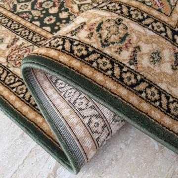 Chodnik dywanowy President 05 - zielony - 60 - 120cm- tradycyjny- klasyczny